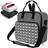 Heat Press Machine Carrying Case Compatible with Cricut Easy Press (9 x 9'), Tote Bag for Cricut Easy Press Mini, Protective Pouch Cover Bags Organizer for Cricut Machine Supplies(Bag Only), Grey