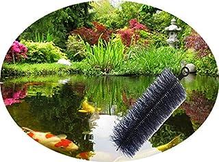 Forega Lot de 25 brosses filtrantes Ø 15 cm x 60 cm pour bassin koï (60 x 15 cm)