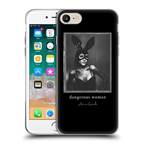 Head Case Designs Offizielle Ariana Grande Haase Gefährliche Frau Soft Gel Huelle kompatibel mit Apple iPhone 7 / iPhone 8 / iPhone SE 2020