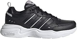 adidas Women's Strutter Sneaker, Black, 7.5 M US