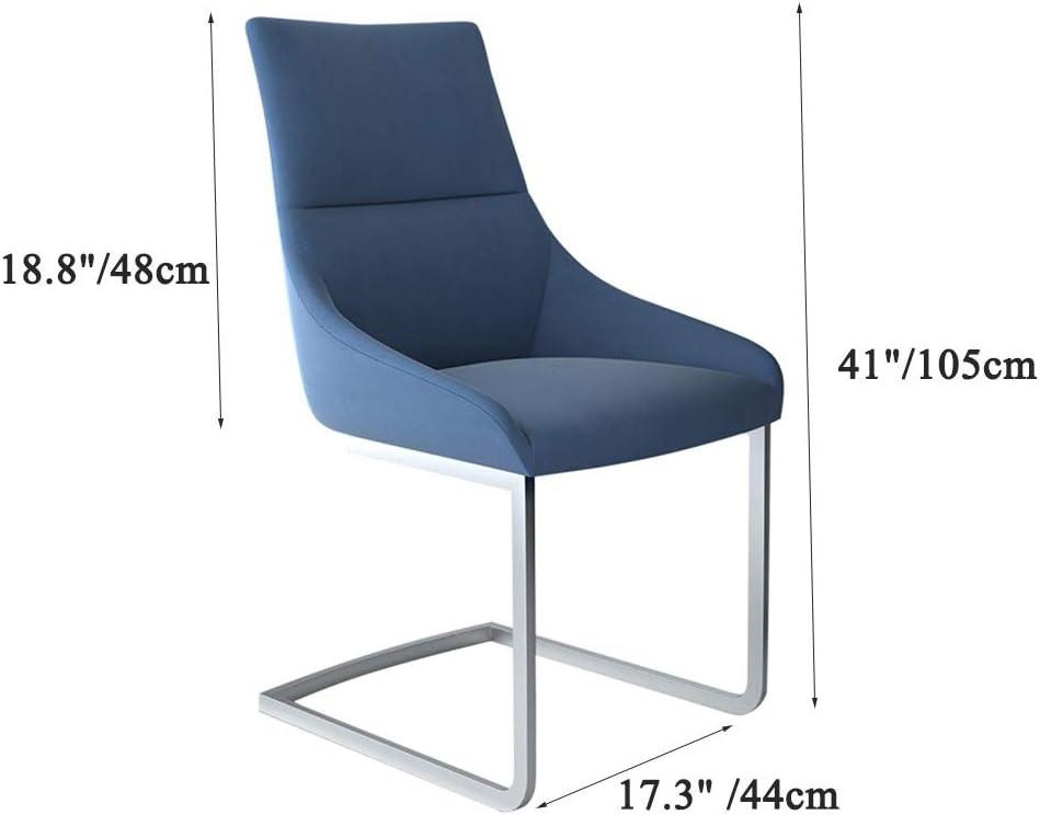 Calyvina Accueil chaises Salle à Manger Chaise avec Dossier Confortable chaises à Manger pour Cuisine Salle d'étude Salon Facile à Assembler,Black Black