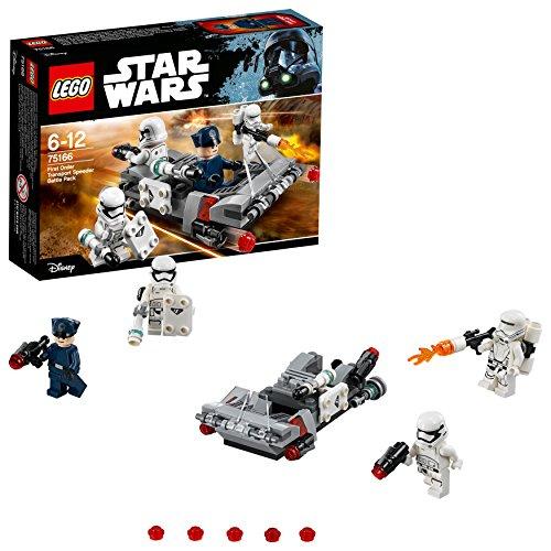 LEGO - 75166 - Pack de Combat Le Speeder de Transport du Premier Ordre