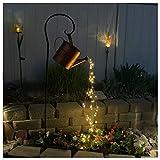 Lumière Jardin de Arrosoir Fée à LED -Jardin Patio Décor de...