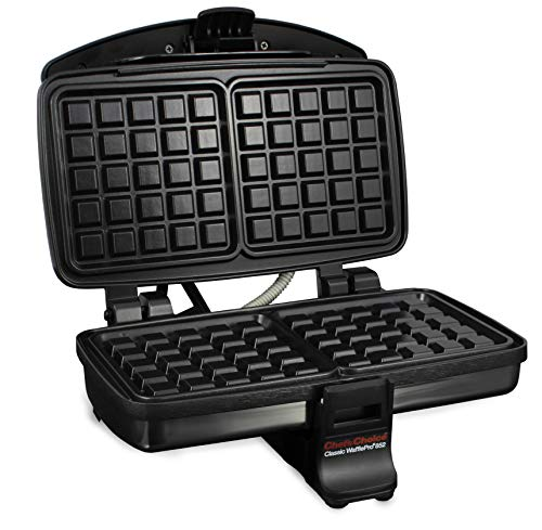 Chef's Choice 8520000 Classic WafflePro Nonstick Waffle Maker 2-Square, Silver