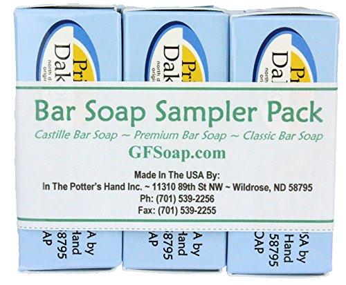 Gluten-Free Savonnerie Bar Soap Sampler Pack