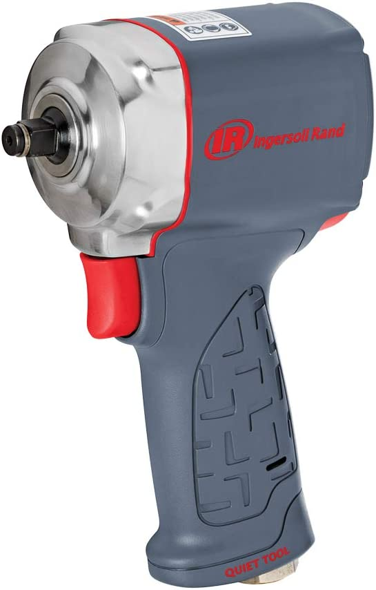 Ingersoll Rand 15QMAX Quiet Stubby Ultra-Compact Air Impact Wrench