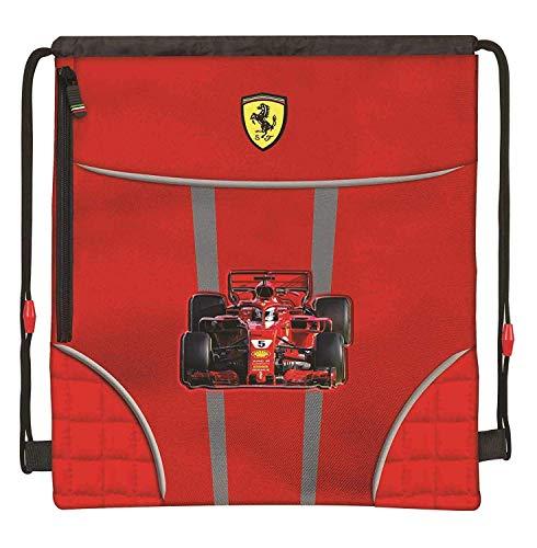 Scuderia Ferrari - Mochila con cordón