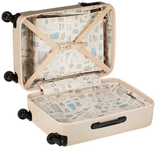 [ハント]スーツケース等マインストッパー付きジッパータイプ48cm33L機内持込みサイズフロントオープンタイプ05744機内持ち込み可34L48cm3.3kgダリアベージュ
