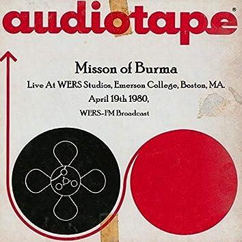 Live At WERS Studios, Emerson College, Boston, MA. April 19th 1980, WERS-FM Broadcast
