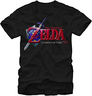 Nintendo Men's Legend of Zelda Ocarina of Time T-Shirt
