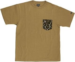 (ショット) Schott ハラコ レザー ポケット Tシャツ ワンスター クルーネック カットソー メンズ レディース 3103113