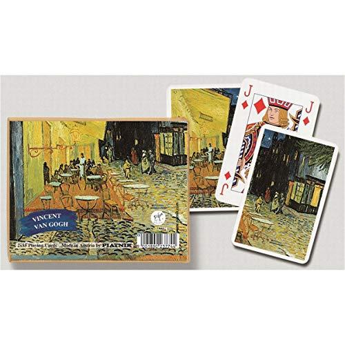 Piatnik - Carte da Gioco, Motivo: Il caffè di Notte, Van Gogh