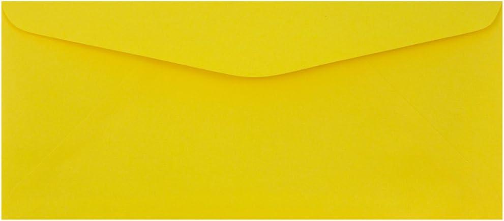 お歳暮 JAM オープニング 大放出セール PAPER #9 Business Colored Envelopes 7 - x 3 8 Yellow