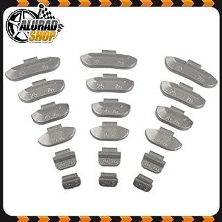 5 30g HASKYY Schlaggewichte Auswuchtgewichte Wuchtgewichte Sortiment für Stahlfelgen 300 Stück (je 50 von 5g, 10g, 15g, 20g, 25g und 30g)