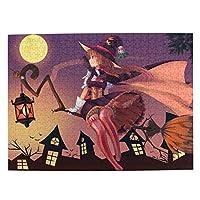500ピース Halloween ハロウィン パズル 学生 子供 大人 向け 木製パズル おもちゃ 漫画 プレゼント 壁飾り 無毒無害 ギフト