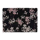 Sitrda (1 unidad) Tela de algodón estampada con flor de ciruelo, tela japonesa de algodón por metro,...