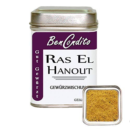 Bencondito - Ras El Hanout Gewürz - Arabisches Gewürzmischung 80 Gr*
