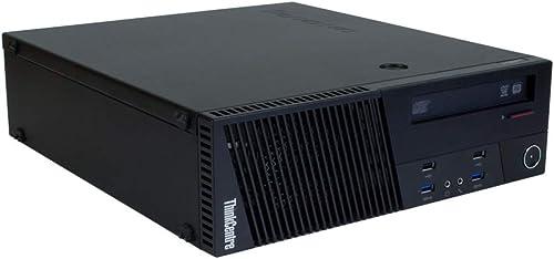 Lenovo ThinkCentre M93p SFF | PC | Ordinateur | Intel Core i5-4570 | 3,2 GHz | 4 Go DDR3 RAM | Disque dur 500 Go | Gr...
