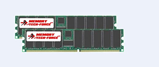 Memory Tech-Force 2GB (2x1GB) DDR DIMM (184 PIN) 266Mhz DDR266 PC2100 for eMachines T3304 2 GB (2x1GB)
