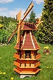 Deko-Shop-Hannusch Windmühle 3 stöckig kugelgelagert 1