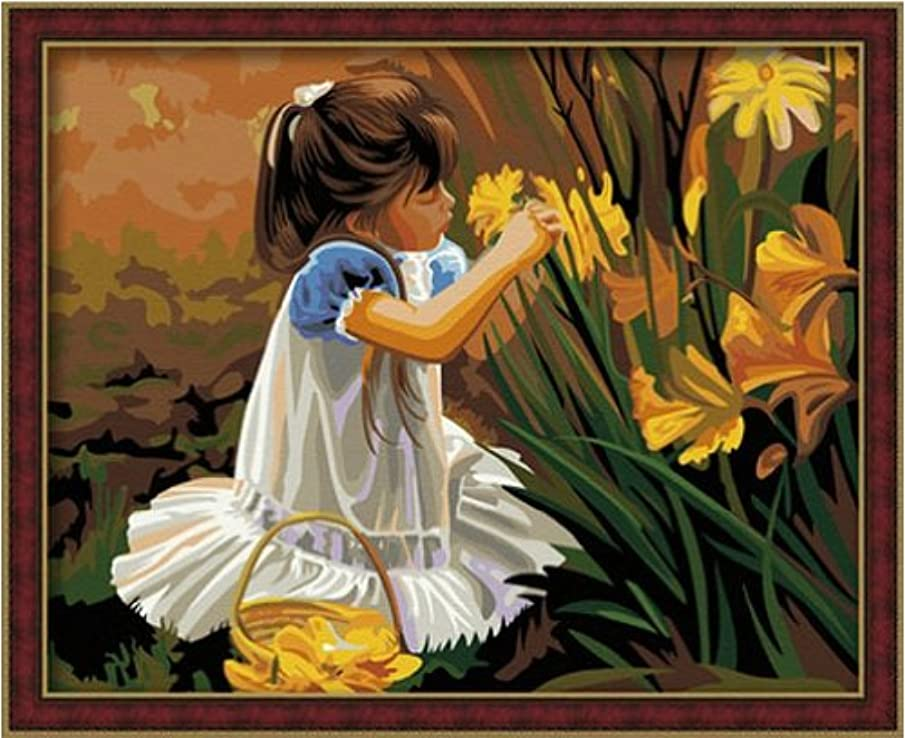 Diy oil painting, paint by number kit- Pick Four Seasons 1620 inch.