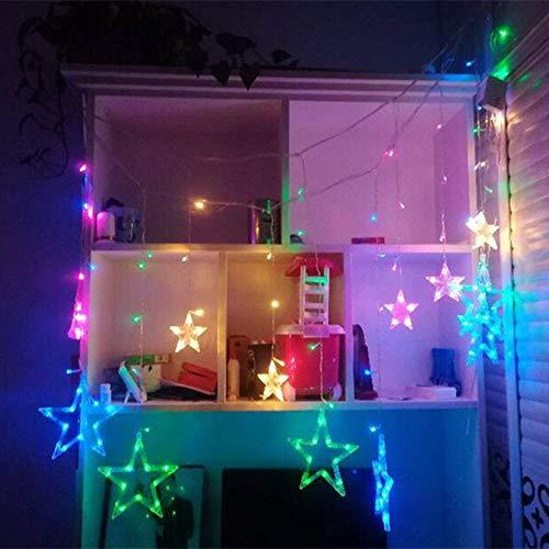 cortinas dormitorio niña estrellas