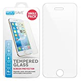 Yousave Accessories Compatible pour iPhone Se Protection D'écran Transparent Verre...