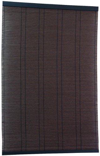 三宅製簾すだれPP弥生88×170ダークブラウン21458