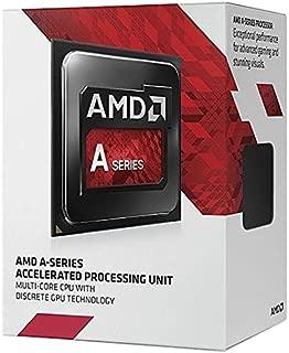 AMD A8-7600 Quad-Core 3.1 GHz Socket FM2+ 65W Desktop Processor AMD Radeon R7 (AD7600YBJABOX)