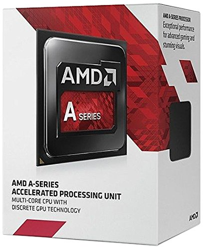 AMD A8-7600 Quad-Core 3.1 GHz Socket FM2+ 65W Desktop Processor AMD Radeon R7 (AD7600YBJABOX)