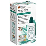 Himalayan Neti Flo Nasal Wash Bottle with 30 Sachets, 10 Ounce