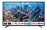 Sharp 4T-C40BJ2KE2FB 40-inch 4K UHD HDR Smart TV with Freeview Play, 3 x