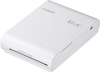 Canon スマートフォン用プリンター SELPHY SQUARE QX10 ホワイト(高画質/高耐久/シール紙/コンパクト)