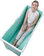 zxcc Bañera Plegable Grande Independiente Esquina bañera de hidromasaje bañera Adulto/Adulto para los Ancianos,100 * 53 * 60cm