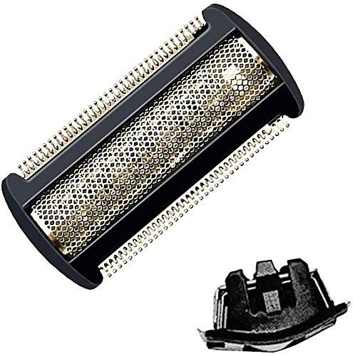 Ersatz-Rasierkopf Ersatz-Trimmer Ersatz-Rasierfolie kompatibel für Philips Bodygroom Haarschneider XA2029 XA525 TT2021 TT2021 TT2022 TT2030 TT2040 BG2024 BG2025 BG2026