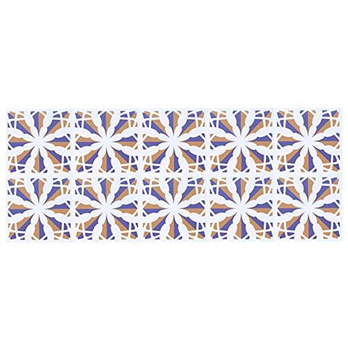Meiyya Etiqueta engomada Impermeable de la Teja, Pasta de la Pared de la Teja de cerámica de Las Etiquetas engomadas de la Teja para el Dormitorio para la Pared(5)