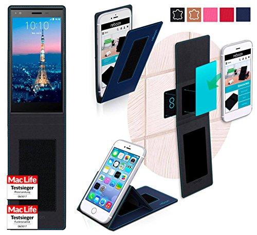 reboon Hülle für ZTE Blade Vec 4G Tasche Cover Case Bumper | Blau | Testsieger