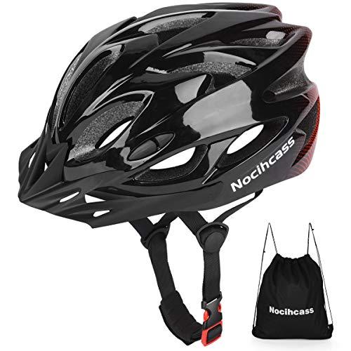 Fahrradhelm mit Sonnenblende für Erwachsene, Jugendliche, Damen und Herren, für Skateboards, Mountainbikes und Rennräder (passend für Kopfgröße 57-62 cm (22,4-24,4 Zoll))