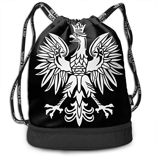 Rucksäcke,Sporttaschen,Turnbeutel,Daypacks, Polska Polish Country Pride Bundle Backpack Funny Gym Bag