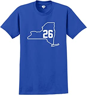 Football Team State Player Numbers T-Shirt