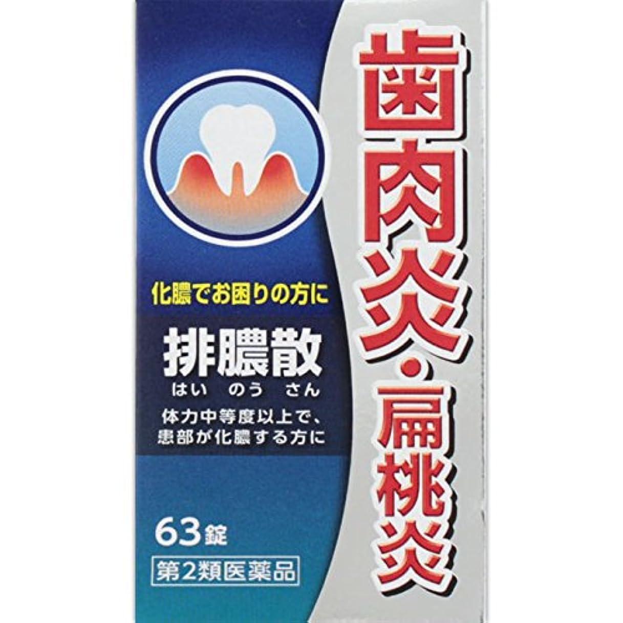 入手しますブリッジ赤面【第2類医薬品】排膿散エキス錠J 63錠