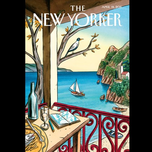 The New Yorker, April 18th 2011 (Lizzie Widdicombe, Claudia Roth Pierpont, Lore Segal) cover art