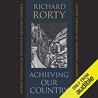 Achieving Our Country audiobook cover art