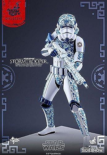 Hot Toys ht902907 rzellan Muster Nebensache Exklusive Stormtrooper Figur, Ma ab 1  6