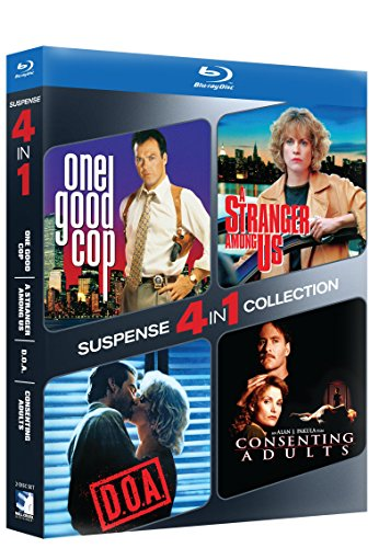 Blu-ray Suspense 4-pack - ONE GOOD COP/STRANGER AMONG US & D.O.A./CONSENTING ADULTS