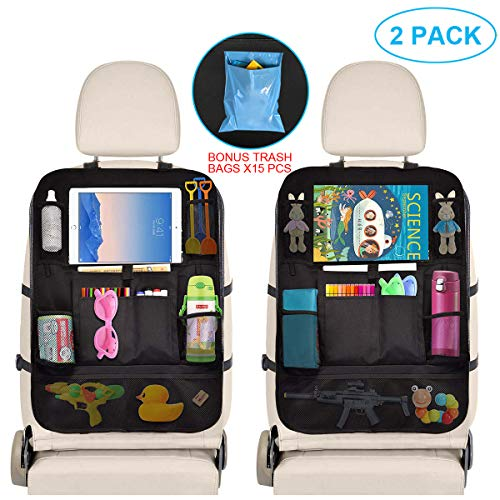Find Cheap Car Organizer Back Seat - Car Accessories Storage Organizer with Touchscreen Tablet Holde...