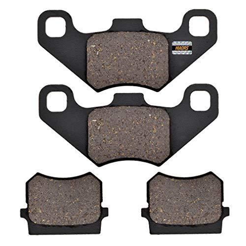 HIAORS Disk Brake Pads for Tomberlin Crossfire 150 150R Hammerhead Twister American Sportswork 150 Go kart Parts 2 Pair
