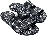 Melissa Womens Color Pop + Mickey And Friends Slide Sandal, Black, Size 5