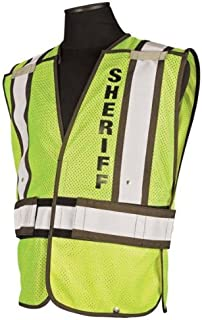 Sheriff Department Officer Safety Vest Brown 2X-Large - X-Large