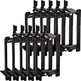Buyer's Point Single Gang Low Voltage Mounting Bracket Device [UL Listed] (1 Gang, 10 Pack) for Telephone Wires, Network Cables, HDMI, Coaxial, Speaker Cables (10)